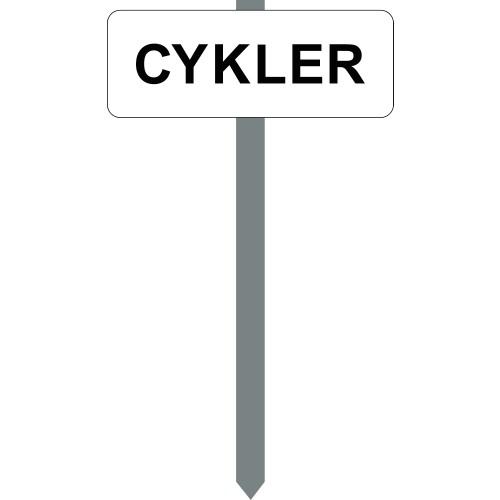 1086H-1-15x40cm Cykler P-spyd