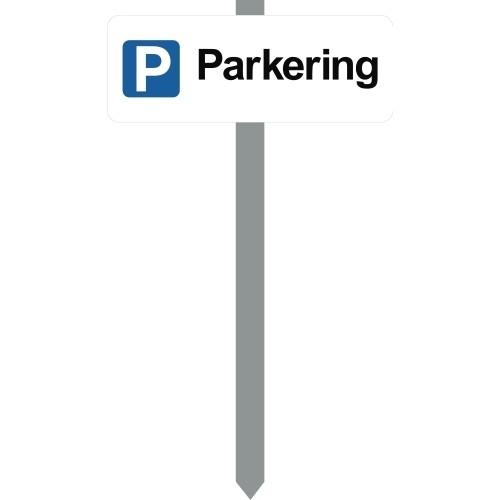 1086H-5-15x40cm P Parkering P-spyd
