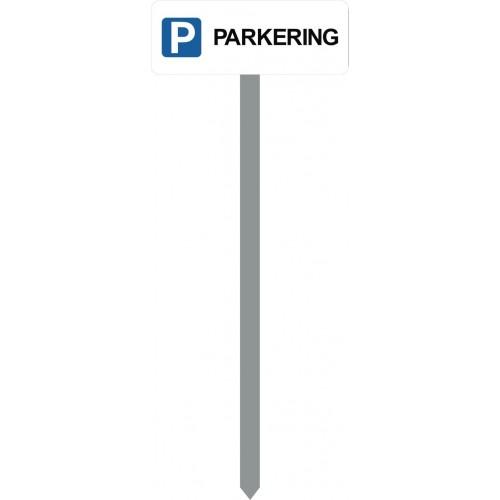 1086H-6-120cm-15x40cm P PARKERING Parkeringsspyd
