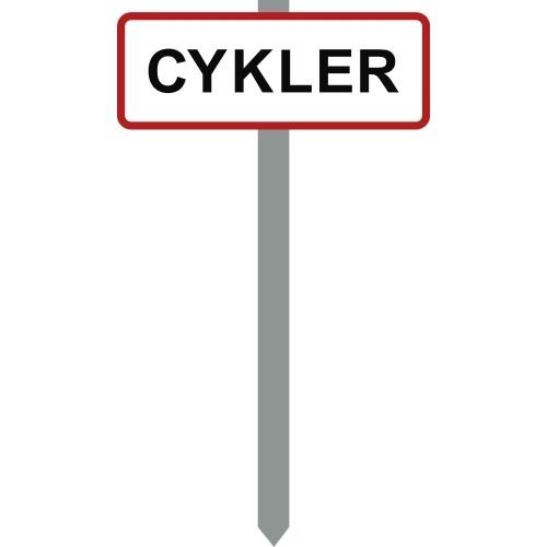 1086R-1-15x40cm Cykler P-spyd