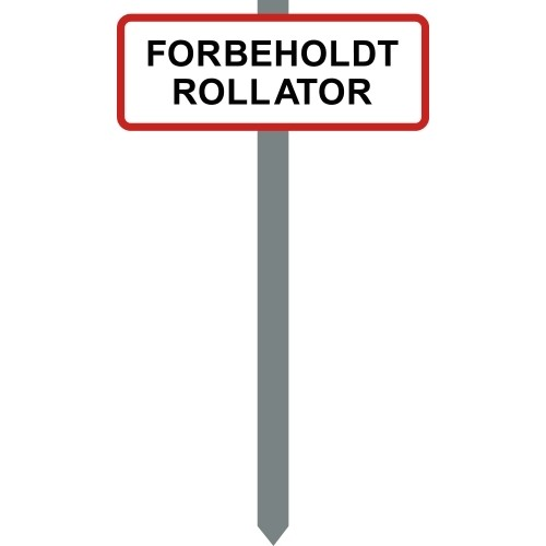1086R-3-15x40cm FORBEHOLDT ROLLATOR P spyd