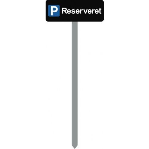 1086S-19-120cm 15x40cm P RESERVERET Parkeringsspyd