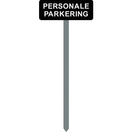 1086S-15-120cm-15X40cm PERSONALE PARKERING parkeringsspyd