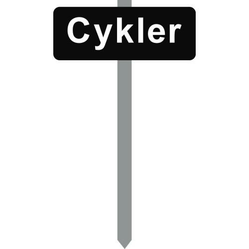 1086S-2-15x40cm Cykler P-spyd