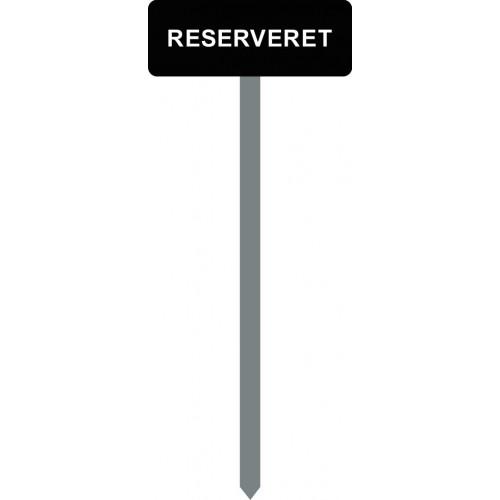 1086S-20-120cm-15x40cm RESERVERET Parkeringsspyd