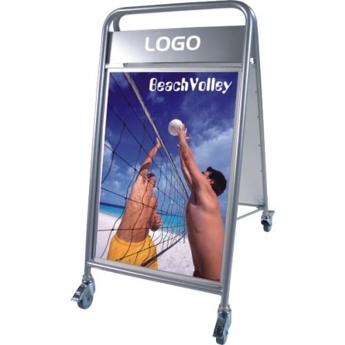 GADESKILT EXPO SIGN LUX MED LOGOPLADE MODEL 108
