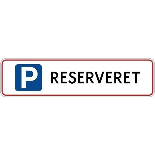 1099-11-10x40R RESERVERET-SKILTE