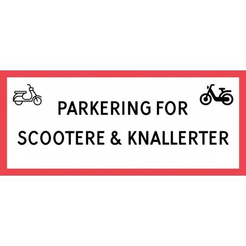 1099-30x70-101R Scooter & knallert parkering