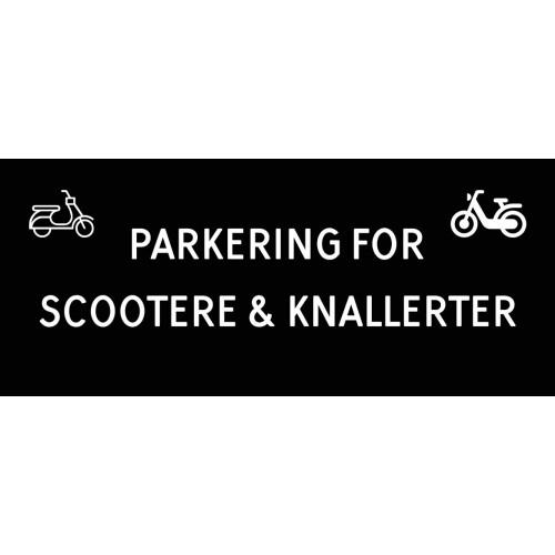 1099-30x70-101S Scooter & knallert parkering