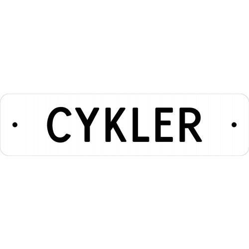 1099-31-10X40H CYKLER SKILTE
