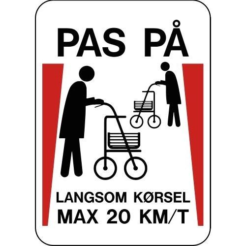 1099-70x50-2 Pas på - Langsom kørsel