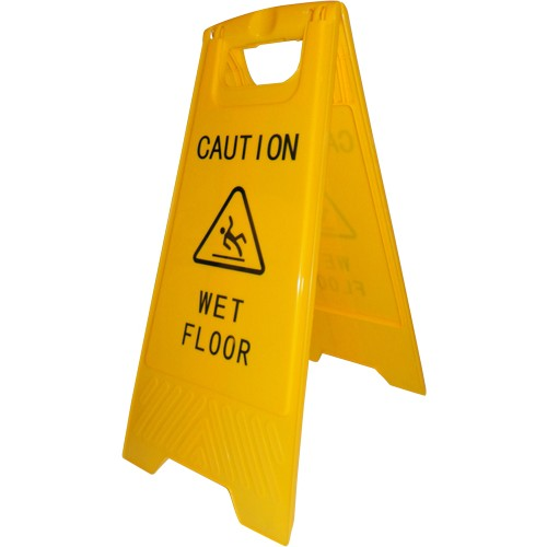 Advarselsskilt Caution Wet Floor