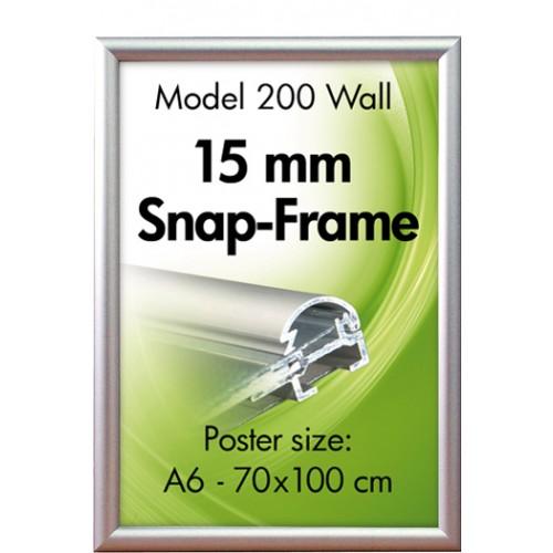 PLAKATRAMME Alu Snap-Frame 15 mm (200)