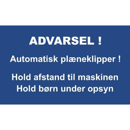 AUTOMATISK PLÆNEKLIPPER 30X50 CM ALUSKILTE-31