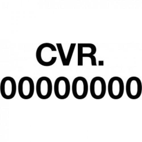 CVR NUMMER TIL BILER 2 LINIER