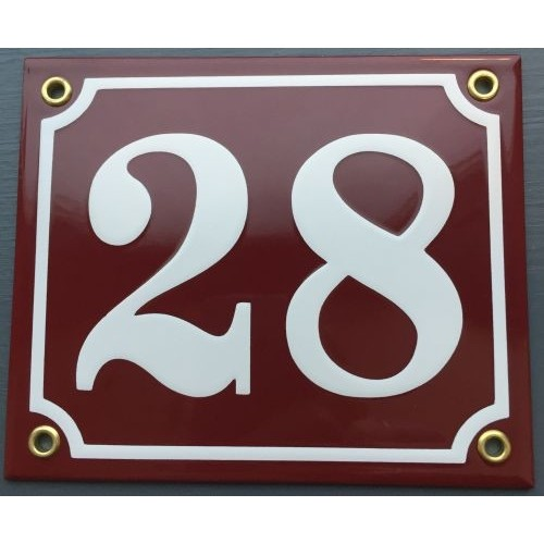 EMALJESKILTE12X14CMBORDEAUXRDHVIDHUSNUMMER-33