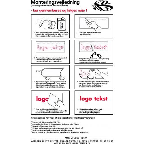 ADGANG FORBUDT DS 102 Pictogram / Klistermærke