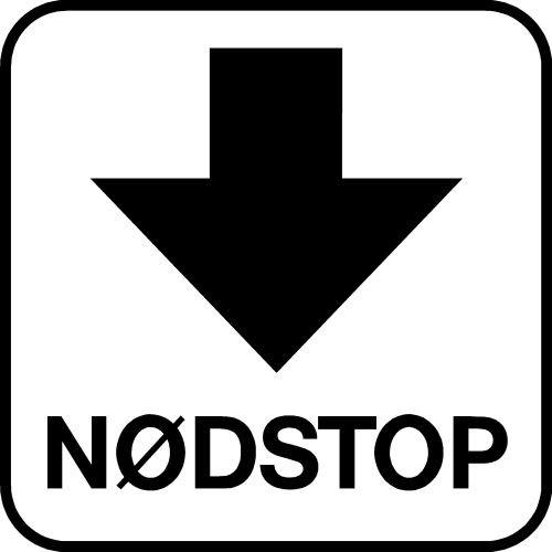 NØDSTOP P217 PIKTOGRAM
