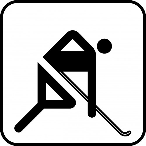 HOCKEY P121 PIKTOGRAM SYMBOL