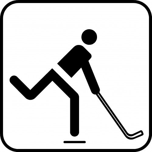 HOCKEY P122 PIKTOGRAM SYMBOL