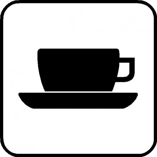 Cafeteria - varme drikke P1- piktogrammer