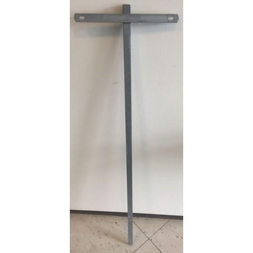 Parkeringsspyd 120 cm uden skilt
