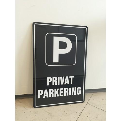 Privat parkering 40x60 cm - Parkeringsskilte