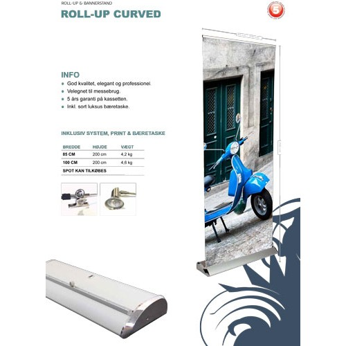 ROLL-UP CURVED