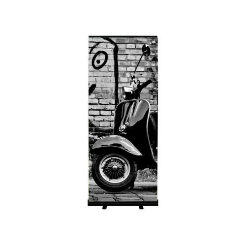ROLL-UP SQUARE BLACK / SORT