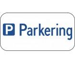 Parkering med pictogram - ALUSKILT