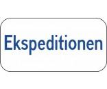 Ekspeditionen Aluskilt