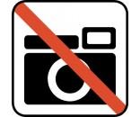 PRINTET PIKTOGRAM FOTOGRAFERING FORBUDT DS113