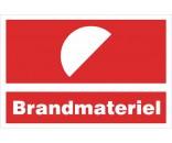 B234 Brandmateriel Aluskilt 20x30cm