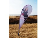 KAMPAGNE BEACHFLAG MODEL C OUTDOOR