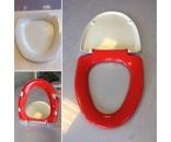 Indpakning af toiletsæde