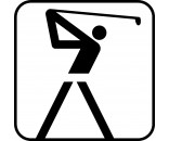 GOLF P118 PIKTOGRAM SYMBOL