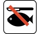 RENSNING AF FISK FORBUDT P259 PIKTOGRAM SYMBOL