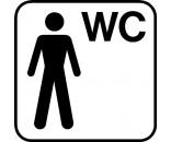Piktogram DS506 HERRE WC