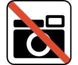 FOTOGRAFERING FORBUDT DS113 PIKTOGRAM