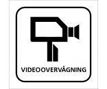 Videoovervågning - Aluskilt