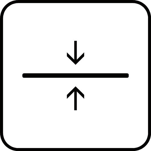 Tykkelse-PICTOGRAM